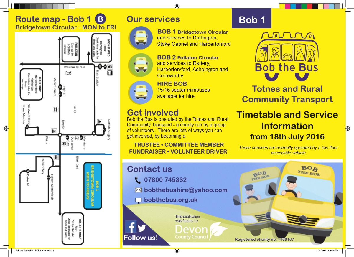 Bob 1 Map Current